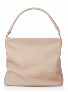 Pebble-Leather Hobo