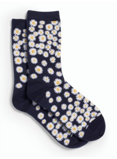 Tossed Verbenas Trouser Socks