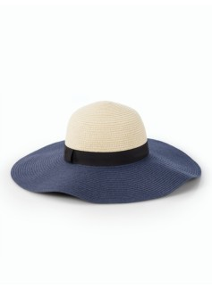 Colorblocked Sun Hat