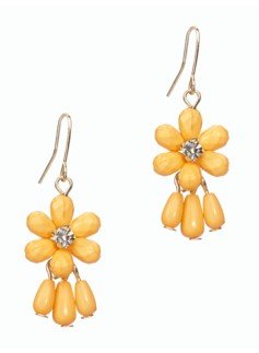 Daisy Gem Earrings
