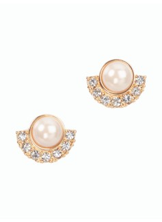Pearl & Pav� Earrings