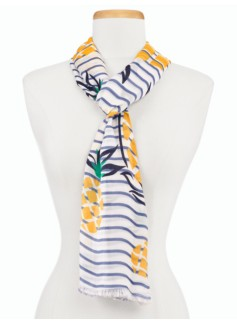 Pineapple & Stripes Scarf