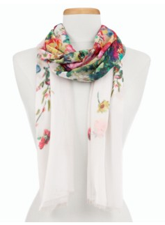 Flower Bouquets Scarf