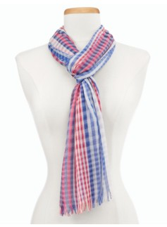 Multi-Stripes Scarf