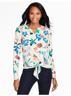 Flower Botanical Blouse