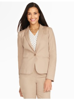 Cotton Viscose Blazer