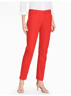 Talbots Hampshire Ankle Pant - Cotton Pique