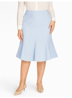 Refined Crepe Skirt