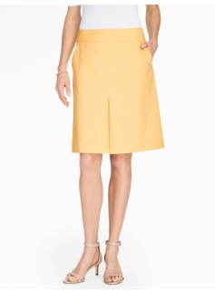 Cotton Piqu� A-Line Skirt