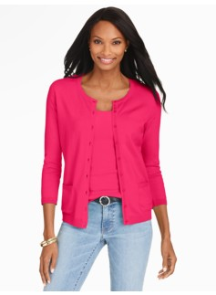 Patch-Pocket Charming Cardigan