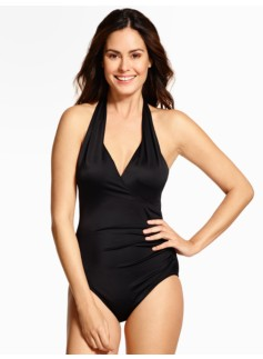 Addison Halter-Tie One-Piece
