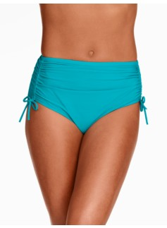 Side-Tie Swim Bottoms