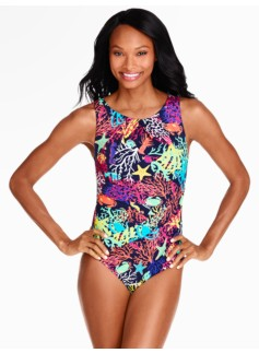 Asbury Miraclesuit� - Under-the-Sea Print