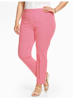 Talbots Chatham Ankle Pant-Scallop Print