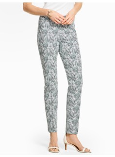 Talbots Chatham Ankle Pant - Soft Ferns