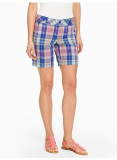 Seaside Plaid Short
