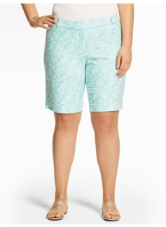 Medallion Print Short