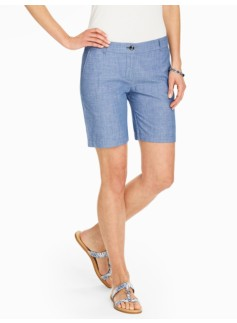 The Weekend Short - Chambray