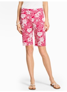 "10 1/2"" Twill Short - Lovely Flower Print"