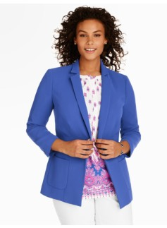 Refined Crepe No-Close Jacket