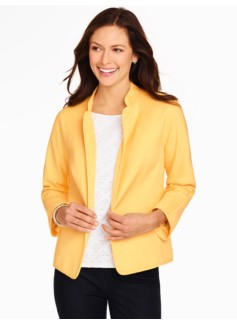Honeycomb-Weave Jacket