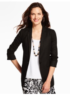 Long Textured Blazer