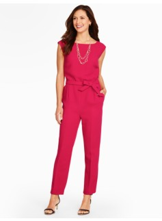 Refined Crepe Jumpsuit