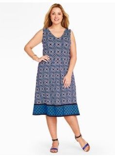 Dotted-Tile Dress