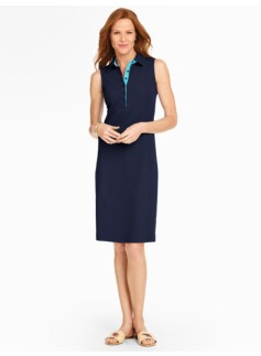 The Classic Piqu� Polo Dress