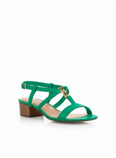 Parisi Bamboo-Buckle Sandals