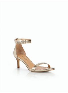 Trulli Ankle-Strap Sandals - Metallic