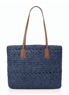 Paper Straw Tote
