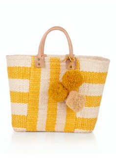 Sunflower Stripes Tote