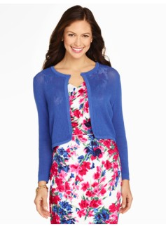 Pointelle Dress Shrug