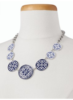 Mosaic Tile Necklace