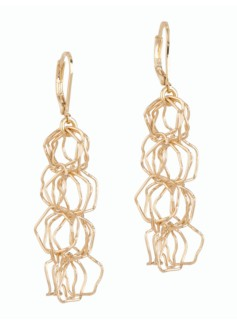 Light Chain-Link Earrings