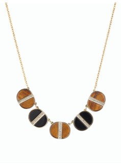 Split Tigers Eye Necklace