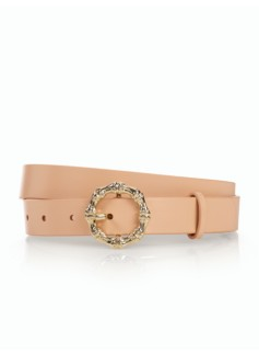 Womans Bamboo Buckle Belt