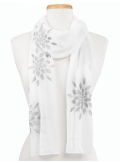 Sparkle Embroidered Scarf