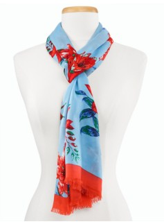 Artistic Flowers Scarf