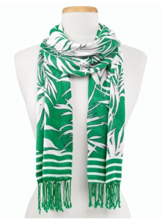 Tropical Palms Scarf