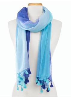 Ombre Tassel Scarf