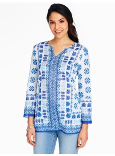 Seaside Tile Tunic