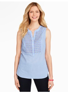 Beaded Check Popover