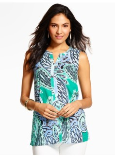 Jungle Paisley Top