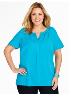 Short-Sleeve Blouse
