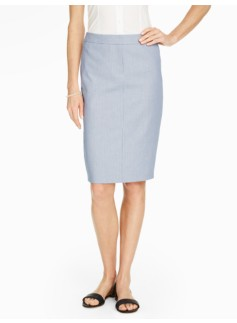 Delphi Stripe Pencil Skirt