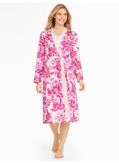 Watercolor Blossom Robe