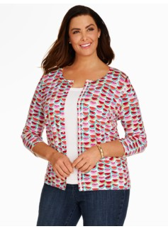 Charming Cardigan - Watermelon