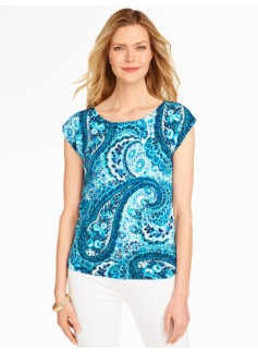 Sweater Topper - Garden Paisley